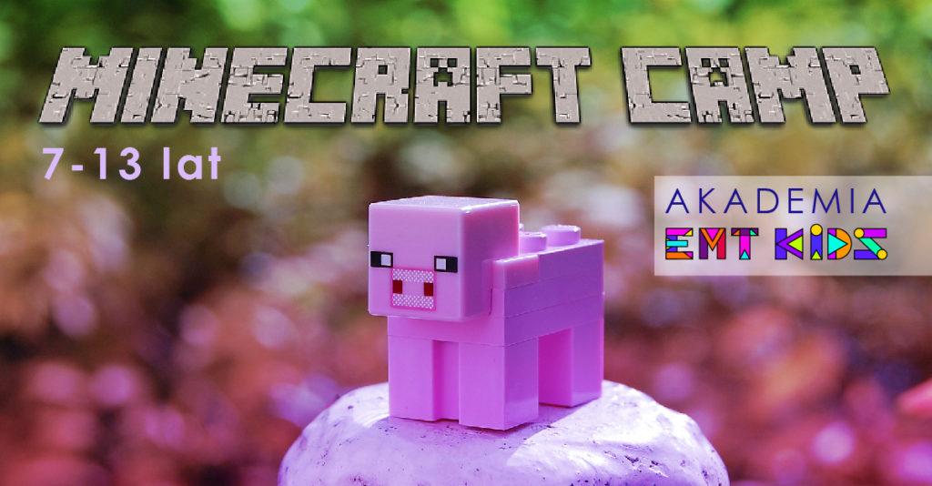 Minecraft_półkolonie_gliwice_obóz_lato_AkademiaEMTKids